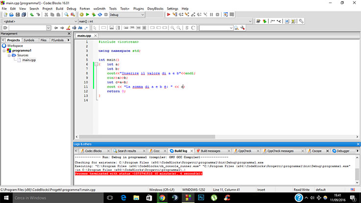 programma-input-output