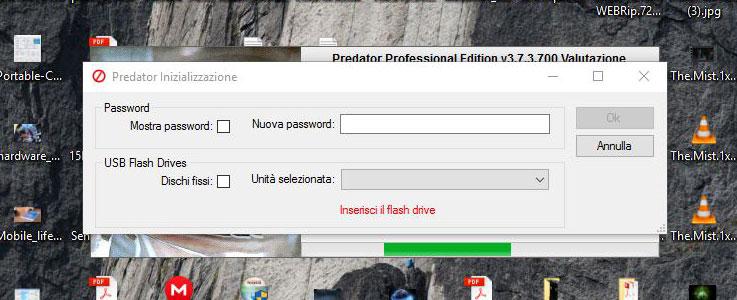 Bloccare il PC tramite Predator