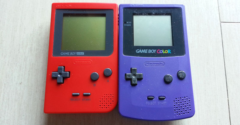 Confronto tra GameBoy Pocket e GameBoy Color