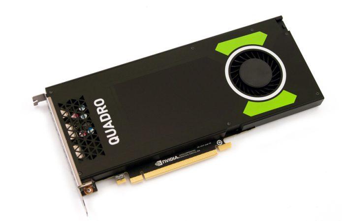 Design di Nvidia Quadro P4000