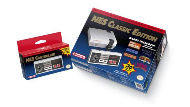 Nintendo Mini-NES: un ritorno agli anni '80