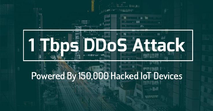 Il più grande attacco DDoS del mondo da 1Tbps