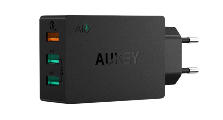 Aukey PA-T14: caricabatterie USB con Quick Charge 3.0 1