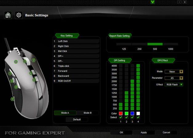 Aukey KM-C4: mouse professionale ad un prezzo modico 4