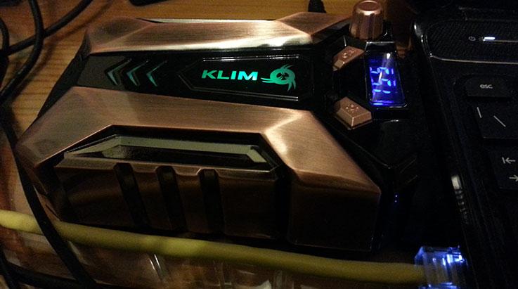 KLIM Cool+: dissipatore ad aria per notebook 1