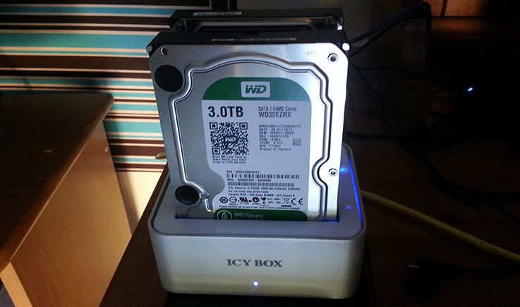 "RaidSonic ICY BOX: supporto per hard disk da 2.5"" e 3.5"" 1"