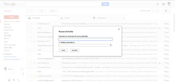 Modificare le impostazioni di inoltro automatico email su Outlook e Gmail 1