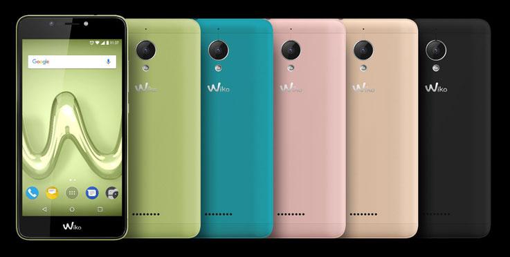 Wiko Tommy2 Plus nelle sue colorazioni