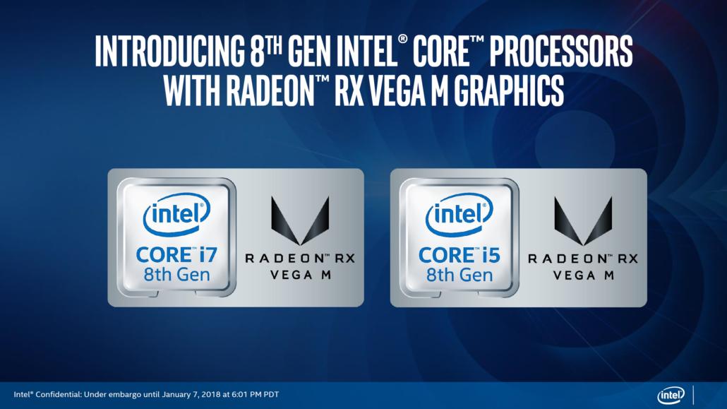 Intel G Series, i nuovi processori di Intel e AMD