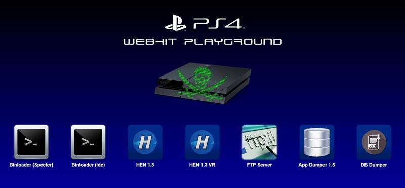 PS4 Webkit Playground