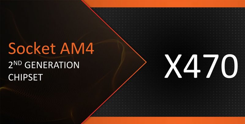 Socket X470 AMD Ryzen 2000