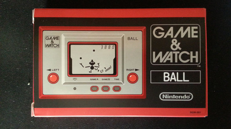 Confezione del Nintendo Game and Watch