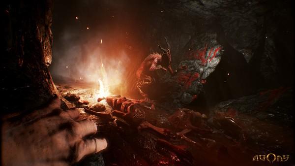 Screenshot di gioco di Agony