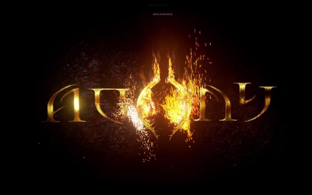 Agony: logo