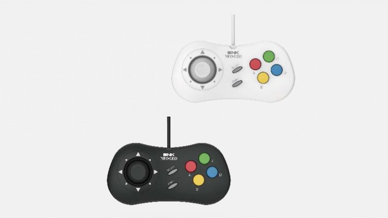 Controller del NeoGeo Mini