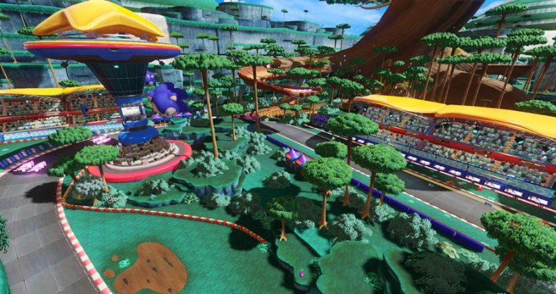 Nuovo trailer di gameplay di Team Sonic Racing 3