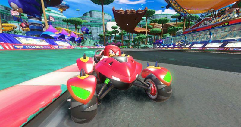 Nuovo trailer di gameplay di Team Sonic Racing 4