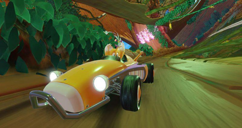 Nuovo trailer di gameplay di Team Sonic Racing 5