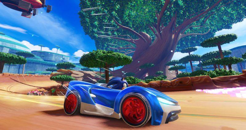 Nuovo trailer di gameplay di Team Sonic Racing 6
