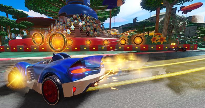 Nuovo trailer di gameplay di Team Sonic Racing 7