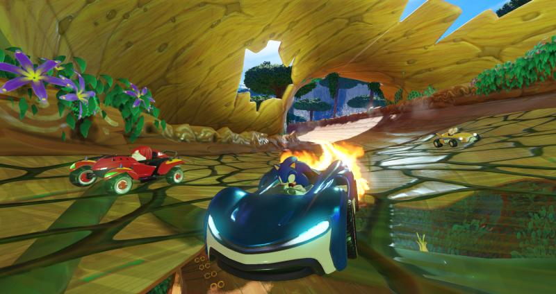 Nuovo trailer di gameplay di Team Sonic Racing 2