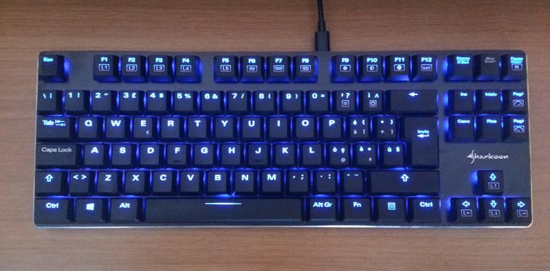 Sharkoon PureWriter, la tastiera ideale per scrivere 2
