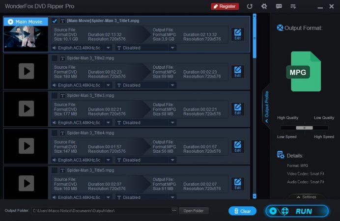 WonderFox DVD Ripper Pro, il programma di conversione per i DVD 2