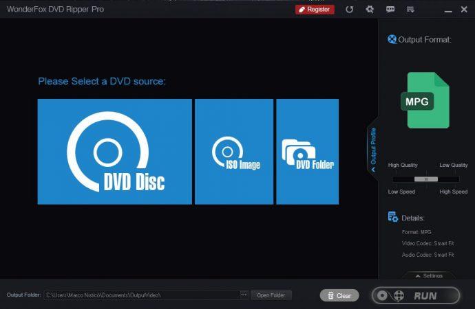 WonderFox DVD Ripper Pro, il programma di conversione per i DVD 1