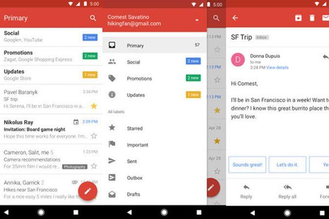 App di Google: Gmail GO