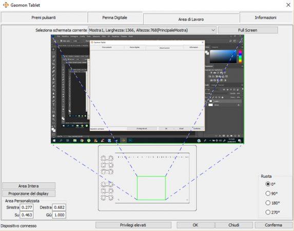 Software della Gaomon M106K