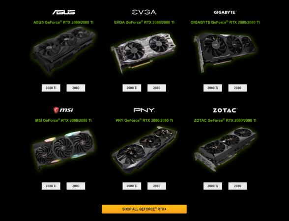 [Gamescom 2018] Presentate le Nvidia GeForce RTX 2080 Ti, 2080 e 2070 1
