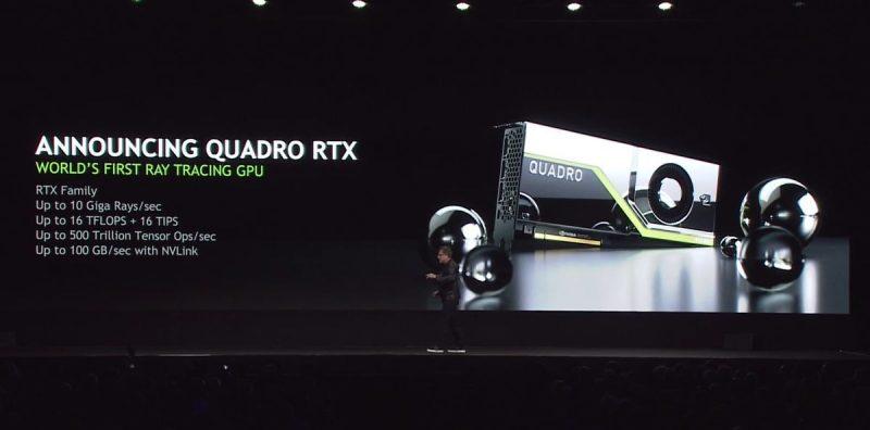 Schede video Nvidia Quadro RTX