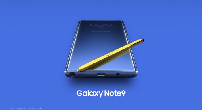 Samsung Galaxy Note 9: spunta in rete il video di presentazione