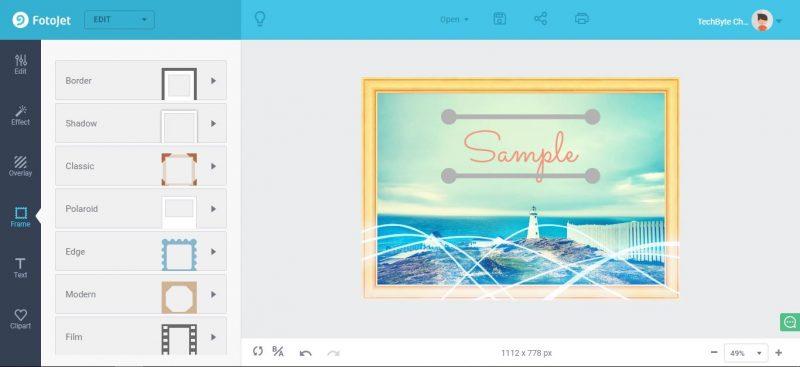 FotoJet: come creare un design online in pochi click 3