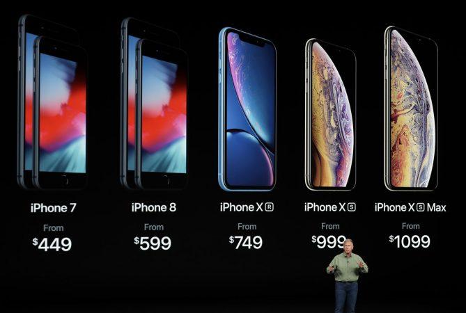 Apple presenta ufficialmente iPhone XS, XS Max e XR 5