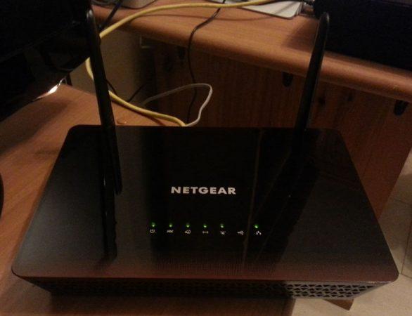 Netgear D6000 Design