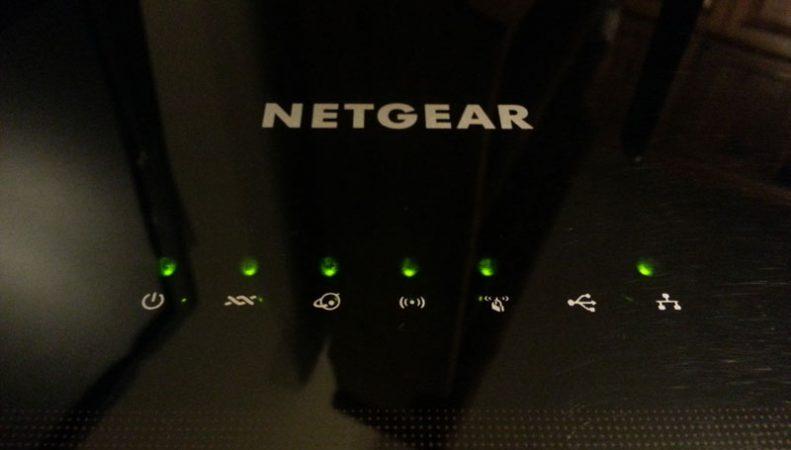 Netgear D6000 LED