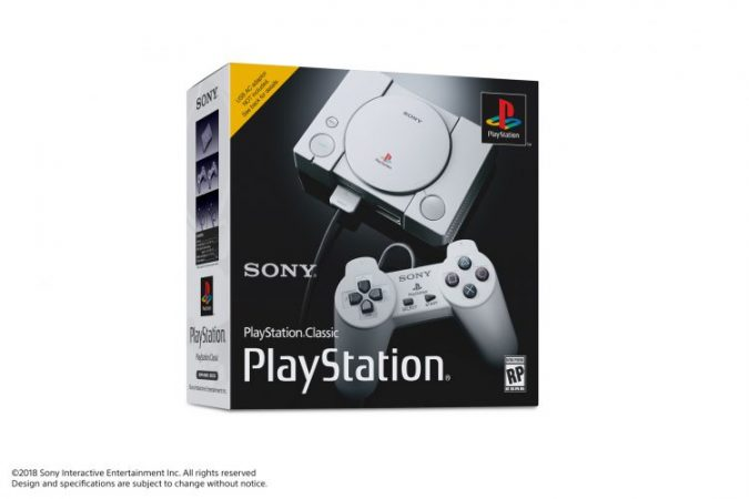 Sony annuncia ufficialmente PlayStation Classic