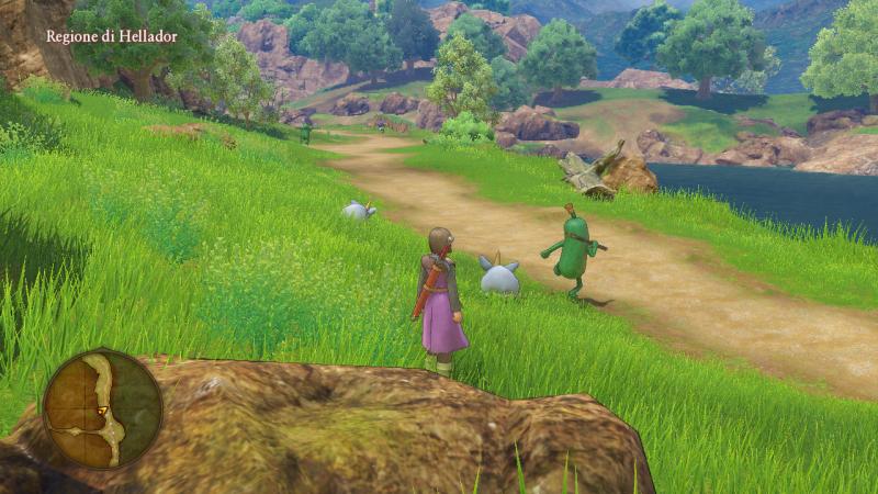 Recensione Dragon Quest XI: Echi di un'era perduta, un nuovo fantastico viaggio 11