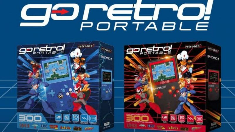 Go Retro! Portable è la nuova console sviluppata da Retro Bit
