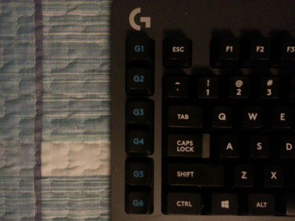 Logitech G613: tasti G