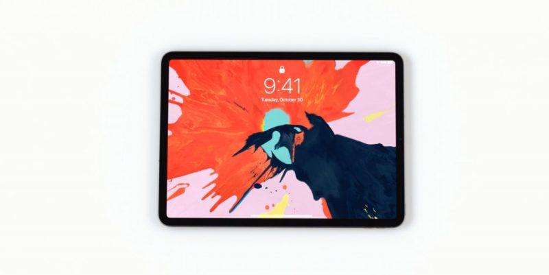 iPad Pro 2018 Fronte