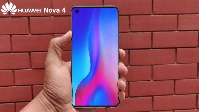 Huawei Nova 4: nuovi dettagli sulle specifiche tecniche
