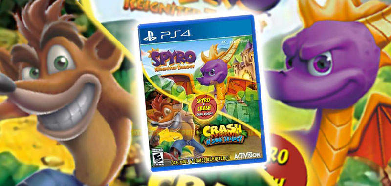 Disponibile ora il bundle di Spyro: Reignited Trilogy e Crash N.Sane Trilogy