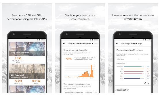 Le app migliori per il benchmark dello smartphone 3