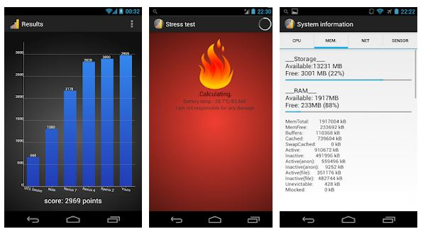 Le app migliori per il benchmark dello smartphone 5