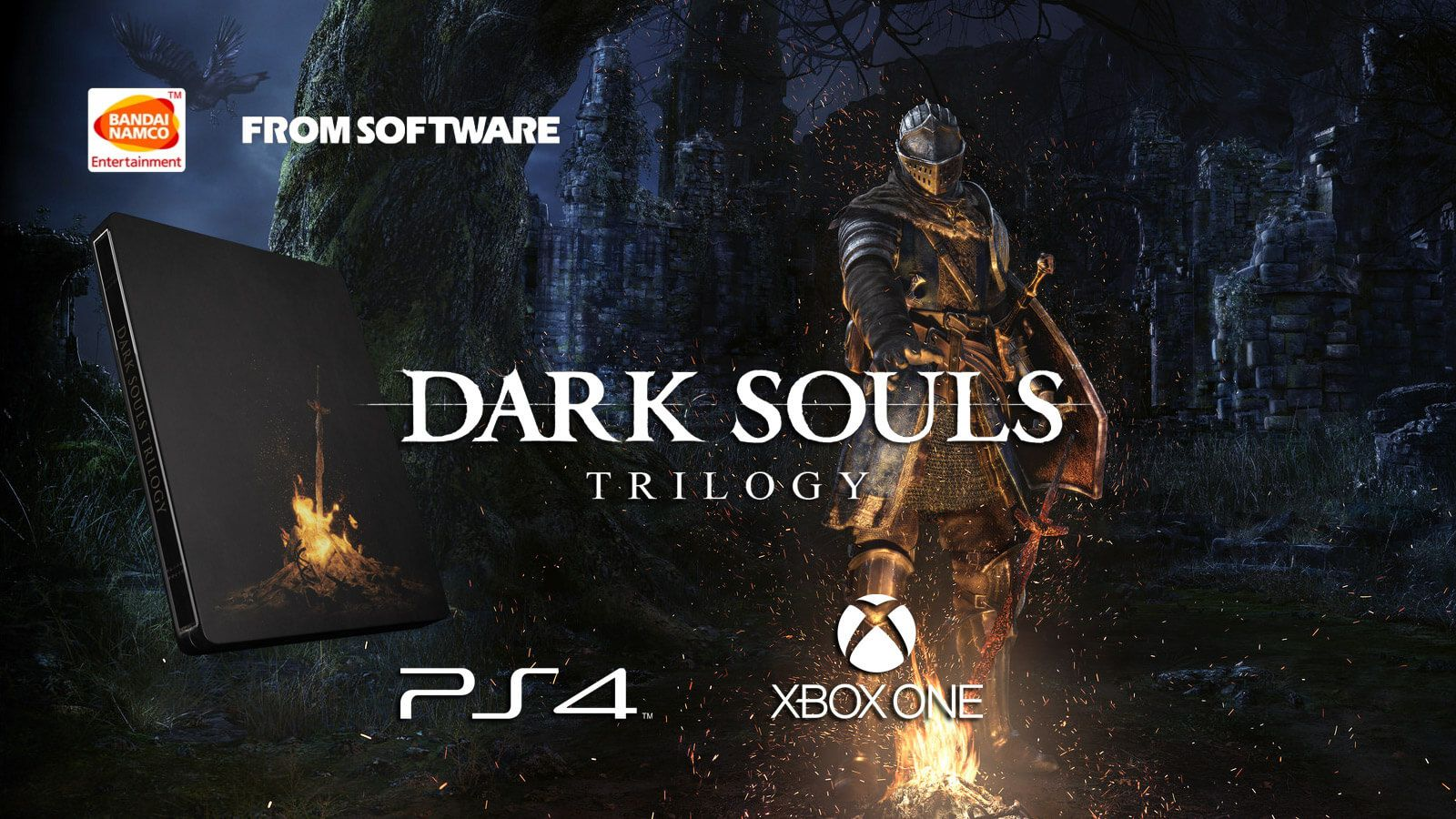 Annunciata la Dark Souls Trilogy Collector Edition
