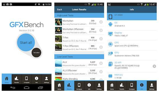 Le app migliori per il benchmark dello smartphone 4