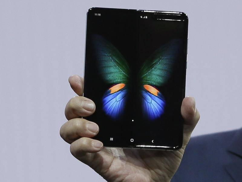 Samsung Galaxy Fold dal vivo