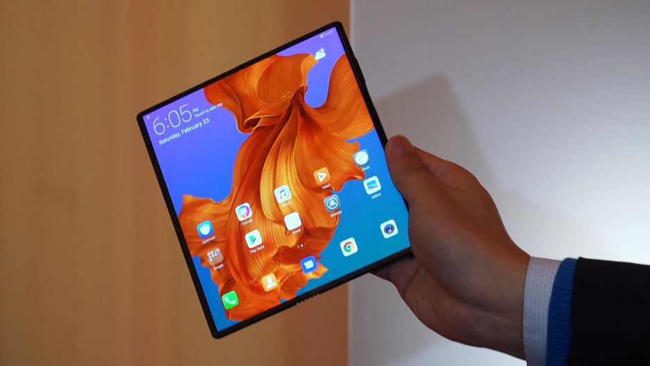 Huawei Mate X: display da 8""